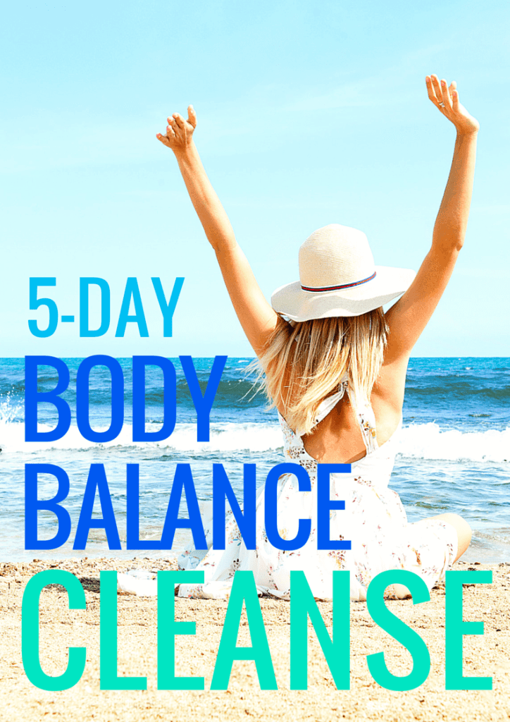 '5-Day Body Balance Cleanse' a plant based & vegan plan. Cleansing doesn't have to be restrictive in order to be effective. This balancing cleanse is based on nourishing & healing with vibrant plant based recipes for total body bliss!