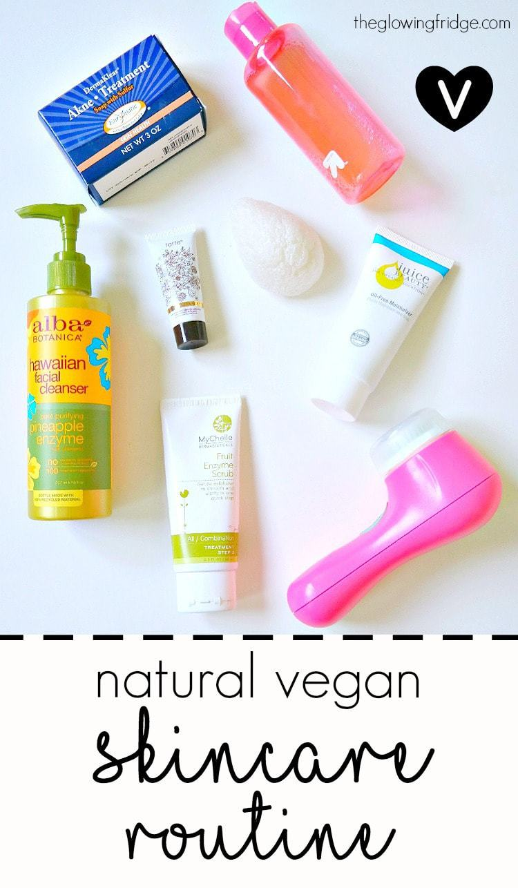 My Natural Vegan Skincare Routine