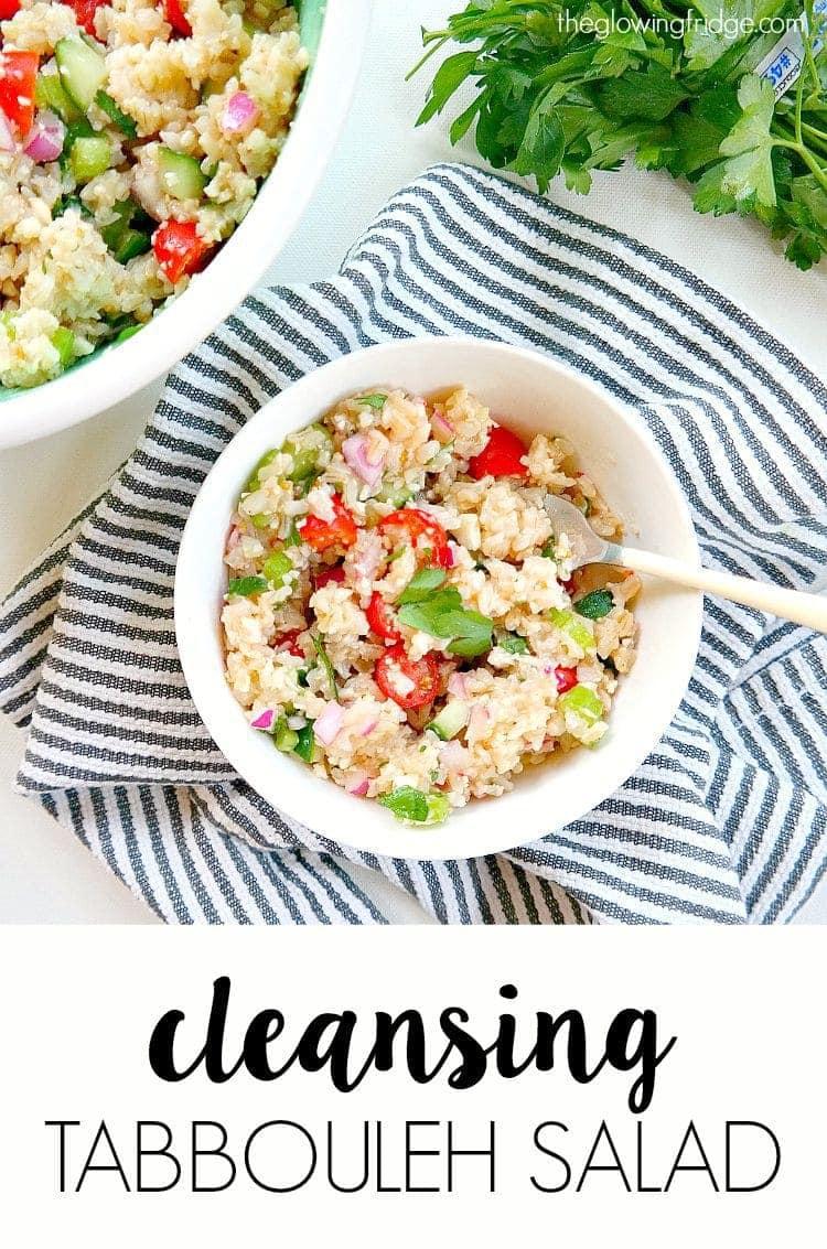 Cleansing Tabbouleh Salad