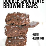 No Bake Double Chocolate Brownie Bars