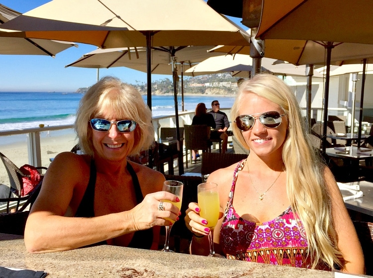 Mimosa's at The Deck in Laguna Beach