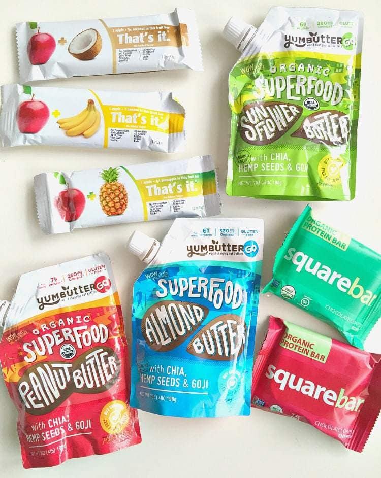Vegan Traveling Snacks