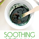 Glowing Skin Series: Soothing Spirulina Mermaid Mask