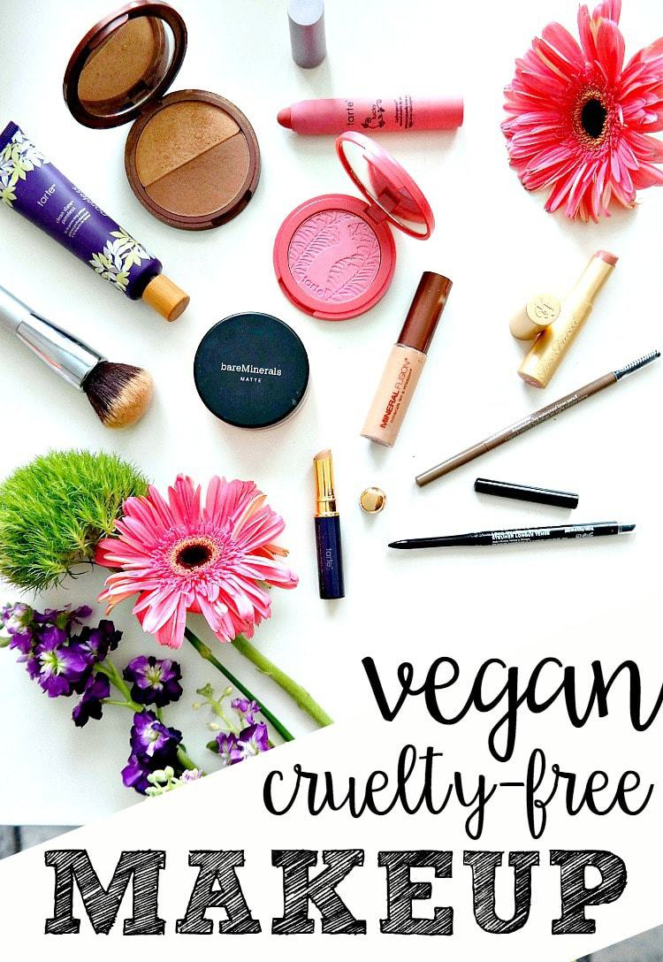 My Cruelty Free & Vegan Makeup Essentials