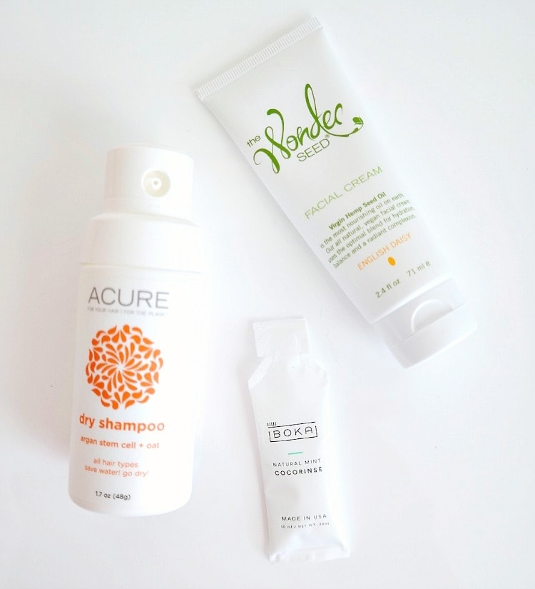 Beauty Favorites - Acure Dry Shampoo, The Wonder Seed Facial Cream & CocoRinse