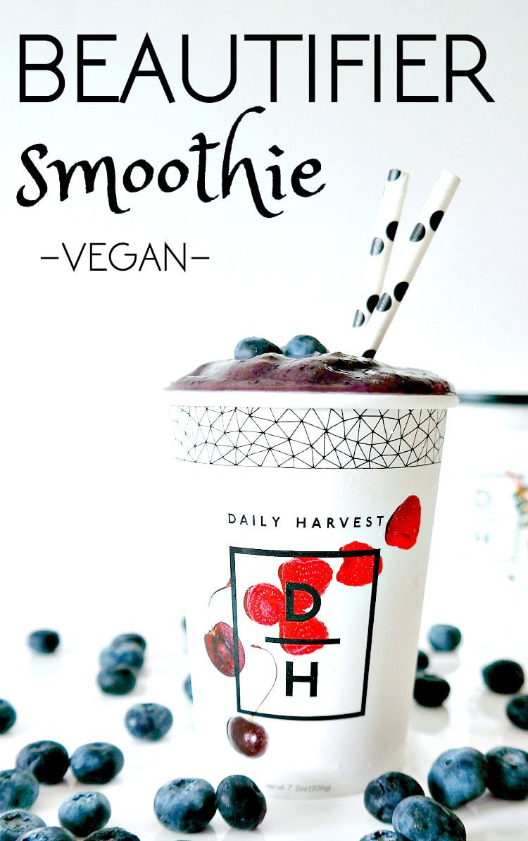 VEGAN. The 'Beautifer Smoothie' rich with antioxidants, healthy omega's and nutrient-dense kale. Get coupon code for 3 free smoothies with your first order! Choose from 14 flavors.