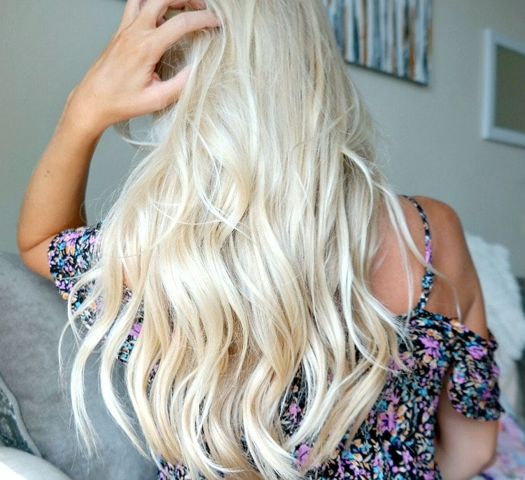 Hair Care Secrets for Growing Long, Healthy Locks. Vegan and cruelty free products. How to Grow Long, Shiny Hair with my top 7 secrets along with many tips! #haircare #vegan