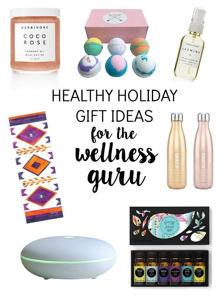 Healthy Holiday Gift Ideas for the Wellness Guru