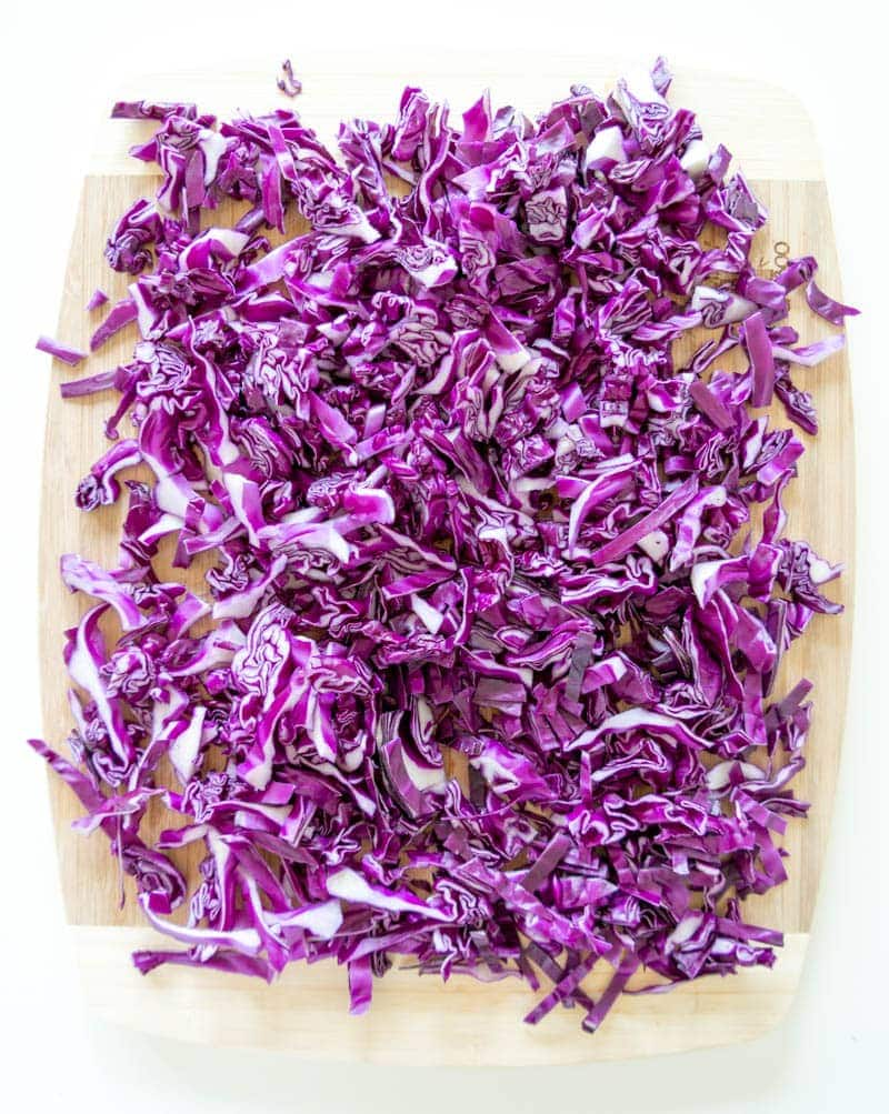 Spicy Probiotic Beet and Red Cabbage Kraut. Vegan