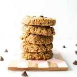 Easy Vegan Almond Butter Chewy Cookies