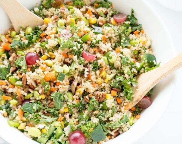 California Chopped Kale Salad