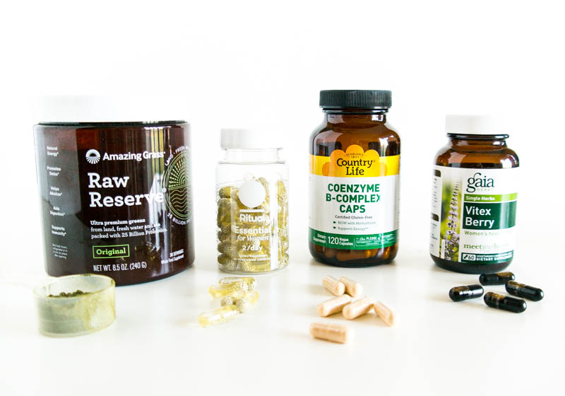 Balancing Hormones Naturally (Part Three): Supplements