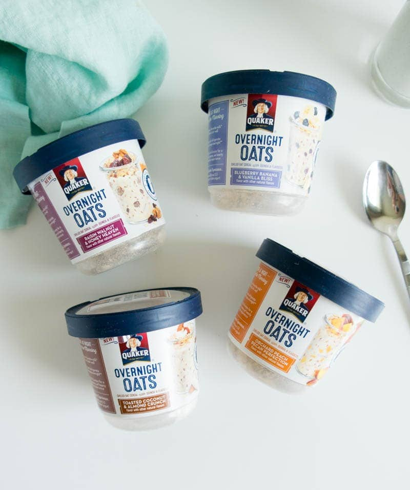 Overnight Oats Made Easier with Quaker