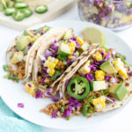 Spicy Walnut Chickpea Taco Meat