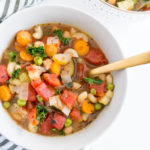 Spiced Vegan Minestrone Soup