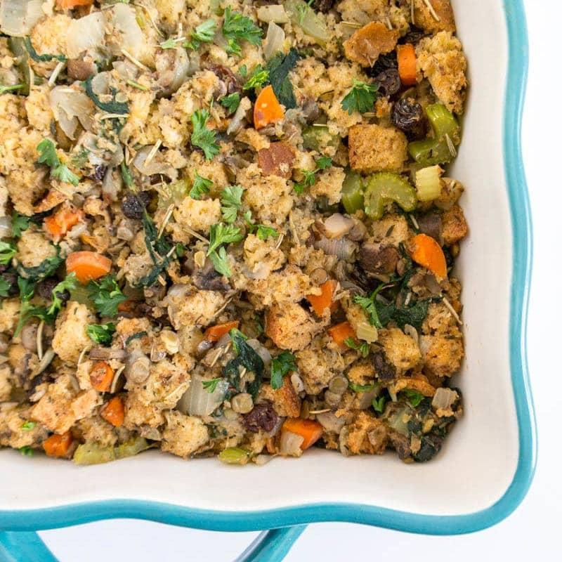 Veggie Herb Vegan Stuffing