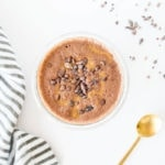 Healthy Chocolate Breakfast Cup