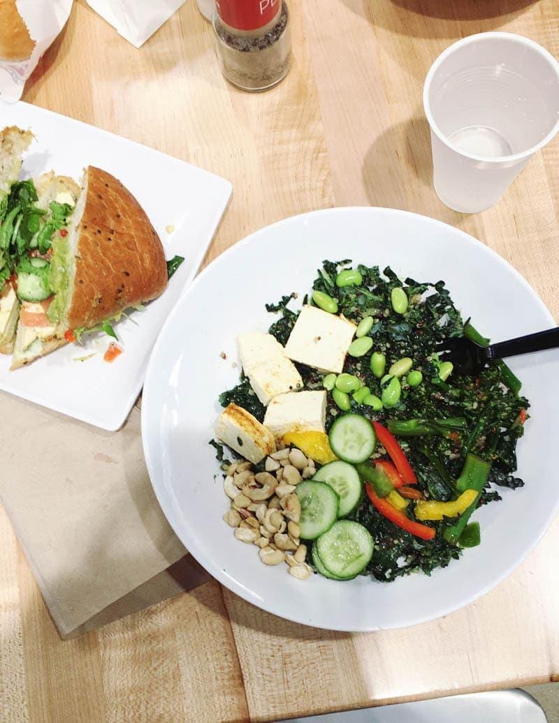 Eating Vegan at Cafe Zupas