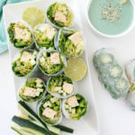 Mermaid Babe Summer Rolls