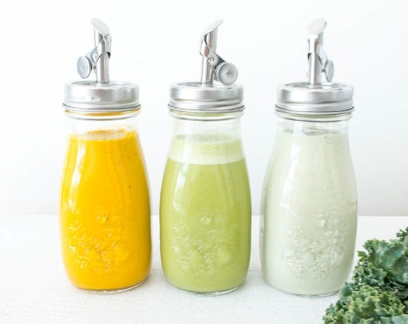 Three Vegan Summer Salad Dressings