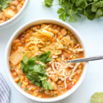 Vegan White Bean Cheezy Chili