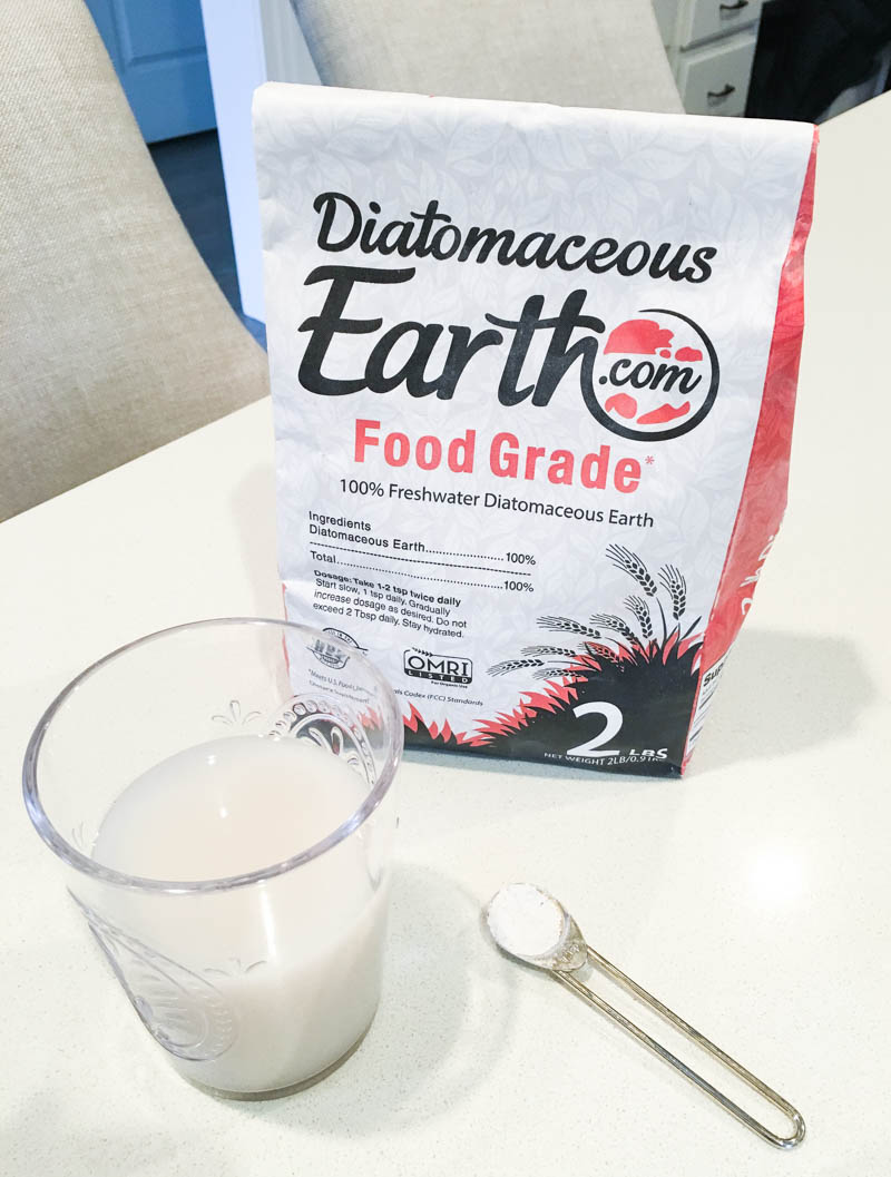 New Year Detox and Wellness Tips - Diatomaceous Earth for natural detoxification of parasites.