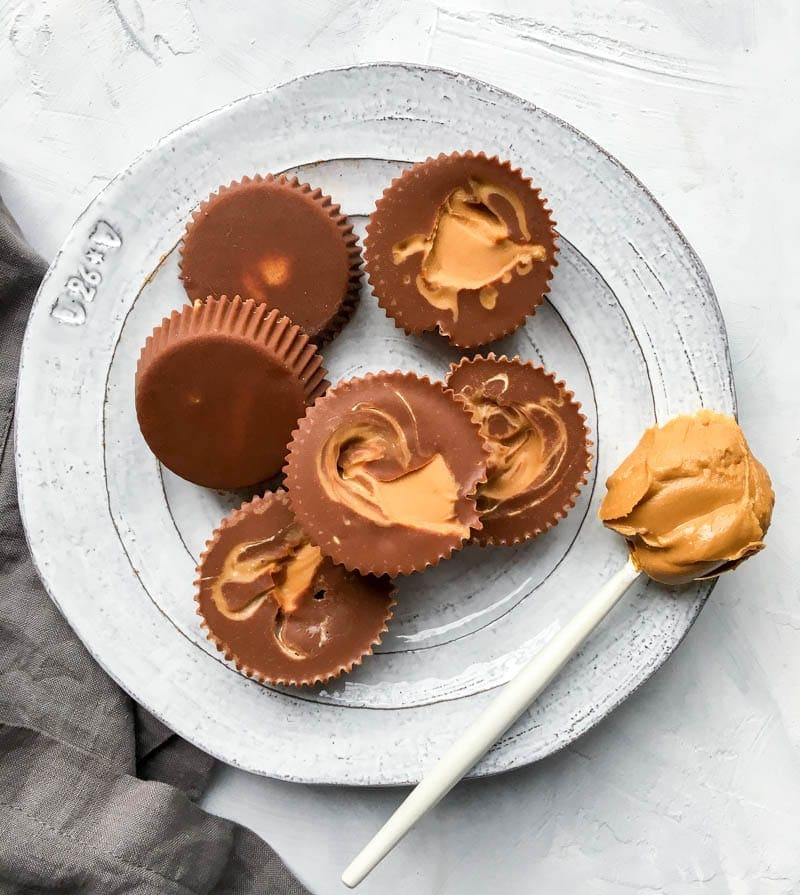 What I've Been Eating Lately. Reese's Freezer Fudge cups. Vegan food meal and idea inspiration for healthy eating! #vegan #mealideas #veganinspo #hormonebalance