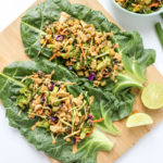 Easy Thai Ginger Collard Green Wraps