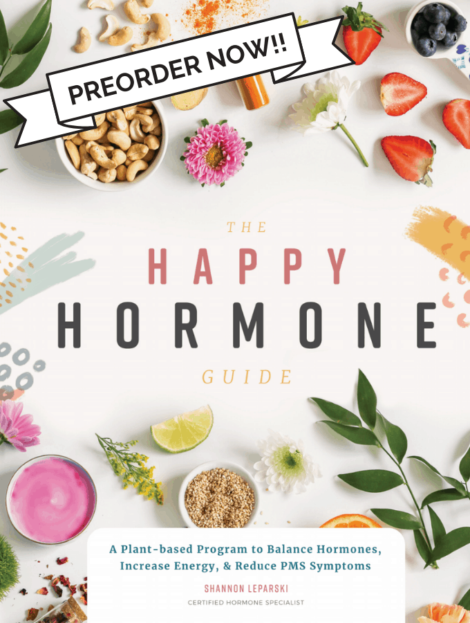 My Book >> The Happy Hormone Guide!