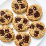 Tahini Chocolate Chunk Cookies (Vegan and Gluten Free)