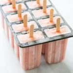 Watermelon Peach Popsicles