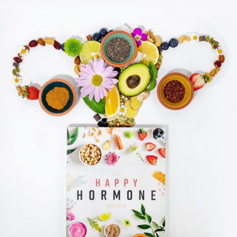 The Happy Hormone Guide Book. The Happy Hormone Guide. A plant based program to balance your hormones, increase energy and decrease PMS symptoms. Natural and holistic hormone balancing plan.