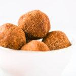 Quick Cinnamon Sugar Donut Holes (Vegan & Gluten-Free)