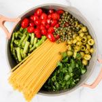 One-Pot Spicy Veggie Pasta